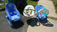 Bouncy seats (3 of them) asking $10.00 for each separately