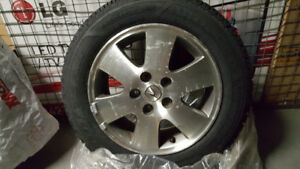 Acura Snow Tires mounted on Alloy Rims 205/60/16