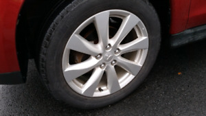 """FS: 4 x 18"""" wheels. inclusive of the mounted Michelin tires."""