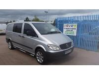 2008 MERCEDES BENZ VITO 115CDI Dueliner 6 seats Warranty AA Cover NO VAT
