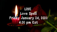 Live Video! Love Spell on January 24, 2020
