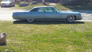 1973 Cadillac Coupe DeVille on air ride