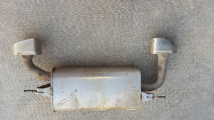 Genesis Coupe 3.8L Factory Exhaust System muffler and tips