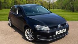 Volkswagen Golf 2.0TDI ( 150ps ) ( BMT ) ( s/s ) DSG 2016MY GT DEEP BLACK PEARL