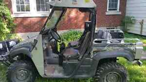 2006 Yamaha Rhino with plow
