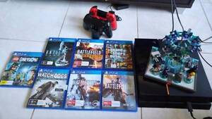 Sony PS4, 2TB HDD, 8 Games, 2 Controllers $400 Seville Grove Armadale Area Preview