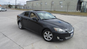 2006 Lexus IS 250, Auto, Leather,Sunroof, 3/Y Warranty available