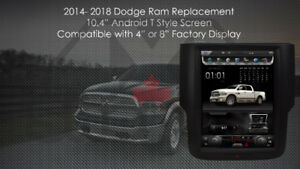 2014-2018 Dodge Ram Android Navigation Backup camera multimedia