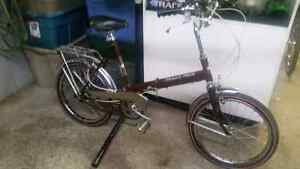 Vélo pliable grand prix brun 3 vitesses roues 20po