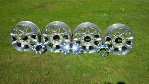 "Ford truck 20"" alum. wheels"