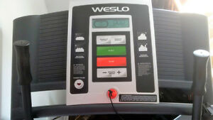 WESLO treadmill for sale, LIKE NEW