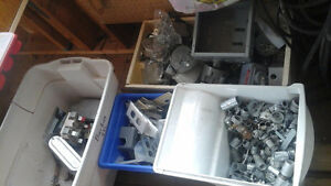 4 tubs of electrical supplies