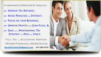 TAX & ACCOUNTING - AFFORDABLE PROFESSIONAL SERVICES, CPA, CA