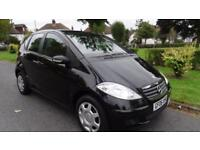 MERCEDES A CLASS A170 CLASSIC SE - WARRANTED MILES 2006 Manual 69379 Petrol Blac