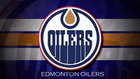 Oilers vs Leafs this Thursday! Row 7 Section 122