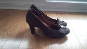 Clarks Brown Shoes