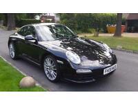 2008 PORSCHE 911 CARRERA 2 PDK Black Auto Petrol gen 2