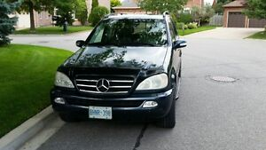 2002 Mercedes-Benz ML 500 SUV, Original Owner, Great Price