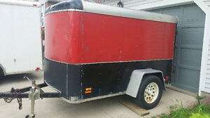 5x8 enclosed trailer for sale