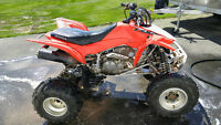 2013 honda 400x (400ex) good condition