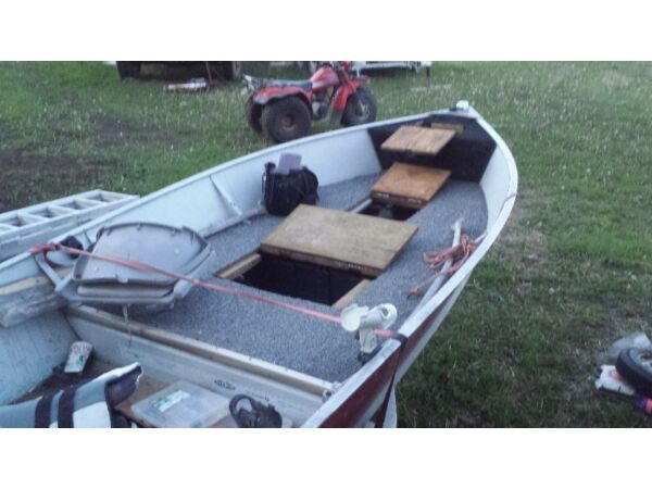 Used 1979 Lund Boat Co 14 foot aluminum