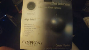 Symphony select..brand new in ceiling stereo system