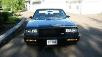 1987 Buick Grand National Coupe (2 door) with T-top for sale!