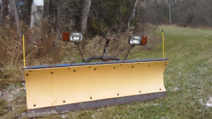 7.5 ft plow& harness