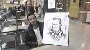 the wedding caricature  show West Island Greater Montréal image 3
