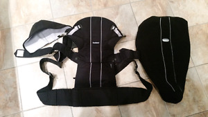 Baby Bjorn Convertable Baby Carrier & Winter Cape + Hood