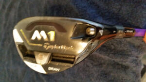 Taylormade  M1 hybrid +shafts