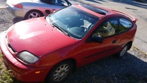 1995 Mazda 323 Hatchback Beater with a Heater