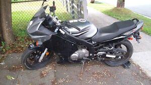 2007 Suzuki GS500EF    +   2005   Honda Jazz scooter