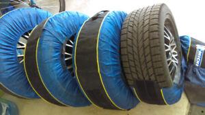 "Jantes-Mags & pneus d'hiver 17""mags-wheels & winter tires"