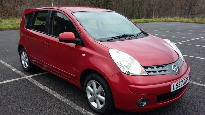 NISSAN NOTE ACENTA 1.6 AUTOMATIC
