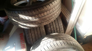 4 ASA rims and tires for bmw or jaguar  245/45/18 Cambridge Kitchener Area image 3