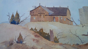 Original Water Colour by Hans Heist, Ready For Framing Kitchener / Waterloo Kitchener Area image 3