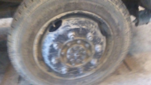 225R19.5 tires with ford 8bolt wheel adapters $650