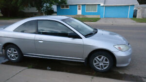 2004 Honda Civic Coupe (2 door) For Parts or if you have Motor