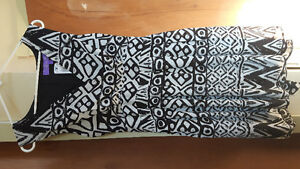 Black and white sundress new with tag size 14