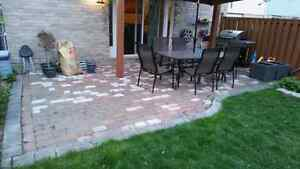 Interlock Pavers (if you can carry it, it's yours)