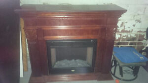 Electric Fireplace (Coleman)