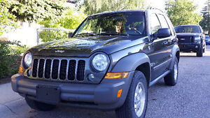 2006 Jeep Liberty Sport trail rated ONLY 156000 KM