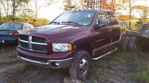 2003 DODGE RAM 3500 PARTING OUT