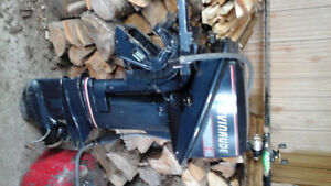 15 hp evinrude outboard
