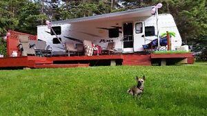 Camper Rental at Twin Shores Camping Area
