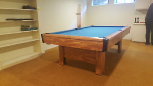 USED - 4 x 8 Brunswick Snooker Table! GREAT shape !!