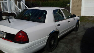 police pack 2007 Ford Crown Victoria