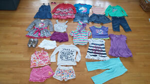 girl clothes lot 3 years old / lot de linge fille 3 ans