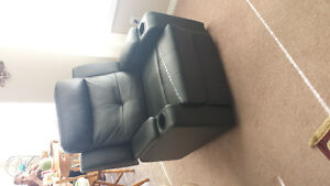 Home Theater Reclining Leather Chair